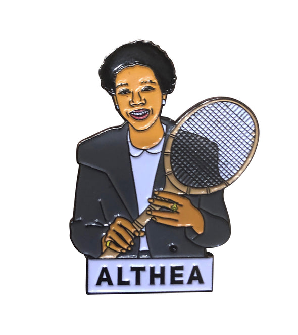 Althea Gibson Lapel Pin