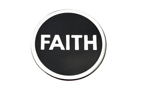 Faith Lapel Pin - Radical Dreams Pins
