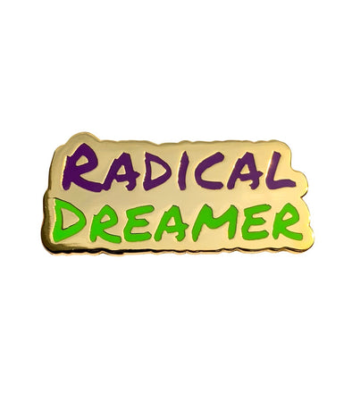 50K Radical Dreamer Lapel Pin