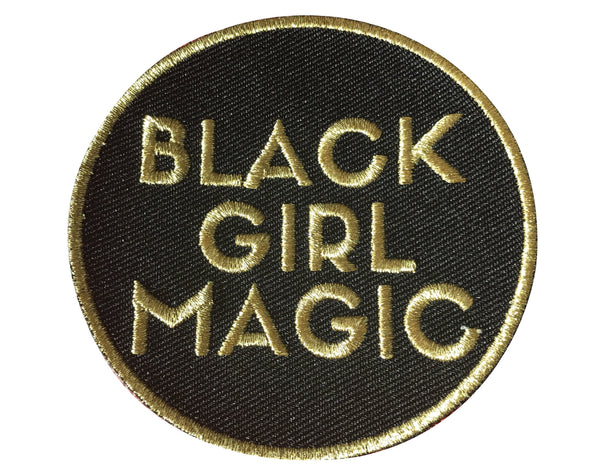 Black Girl Magic Patch - GOLD - Radical Dreams Pins