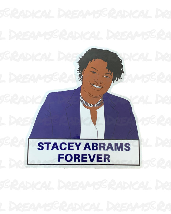 Stacey Abrams - STICKER