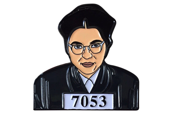 Rosa Parks Lapel Pin - Radical Dreams Pins