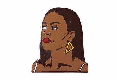 Michelle Obama Lapel Pin - Radical Dreams Pins