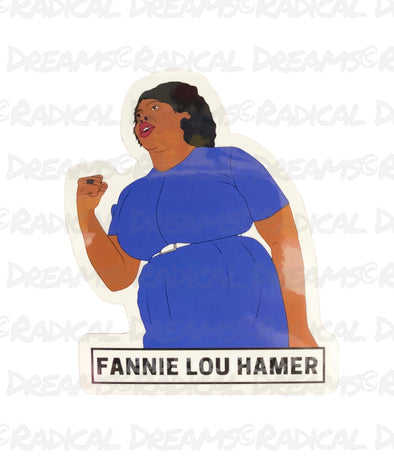 Fannie Lou Hamer - STICKER