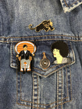 Black Liberation Series Pin Set - Panther, Angela, & Huey