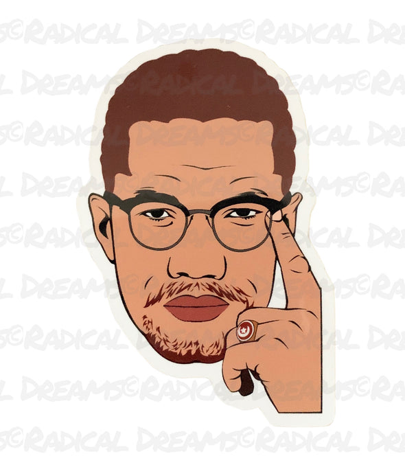 Malcolm X - STICKER