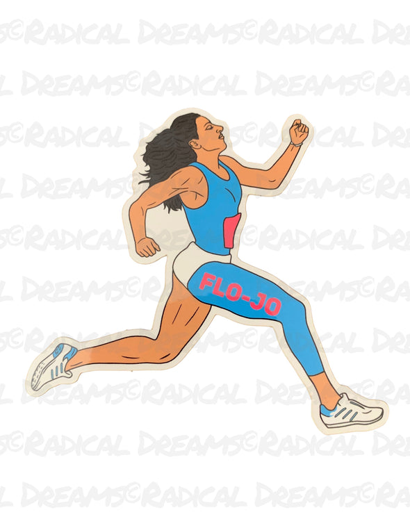 Flo Jo Running - STICKER