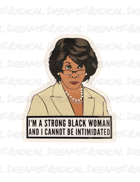 Strong Black Woman - STICKER