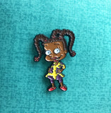 Black Cartoons - Susie Carmichael Lapel Pin - Radical Dreams Pins