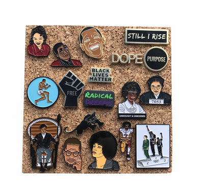 Cork Tile - 6 in. X 6 in. - Radical Dreams Pins