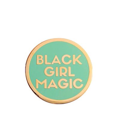 Black Girl Magic Lapel Pin - MINT