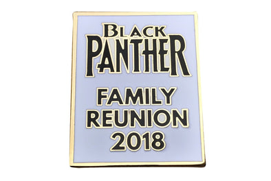 Black Panther Movie - Family Reunion Lapel Pin