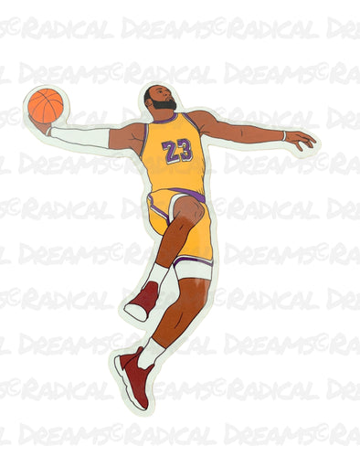 Lebron - STICKER