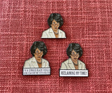 Complete Maxine Waters Lapel Pin Set