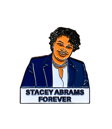 Stacey Abrams Lapel Pin