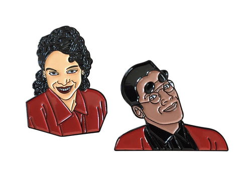 A Different World Lapel Pin Pack - Dwayne & Whitley - Radical Dreams Pins