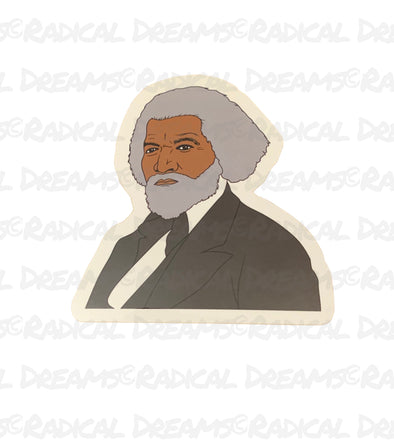 Frederick Douglass - STICKER