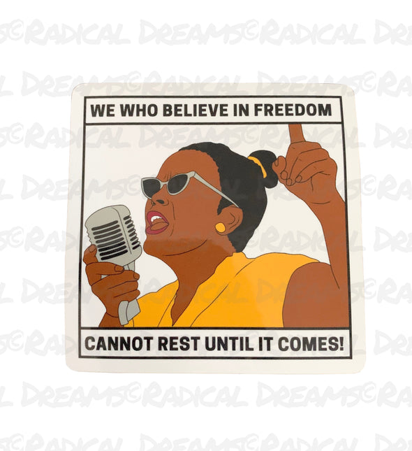 Ella Baker - STICKER