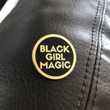 Black Girl Magic Lapel Pin - GOLD