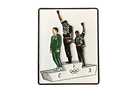 1968 Olympics Black Power Lapel Pin