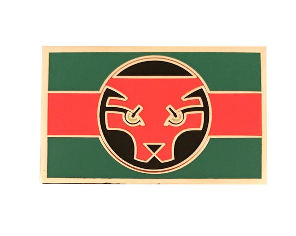 Black Panther Movie - Wakandan Flag Lapel Pin - Radical Dreams Pins