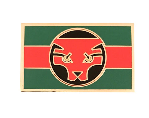 Black Panther Movie - Wakandan Flag Lapel Pin