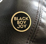 Black Boy Joy Lapel Pin - GOLD