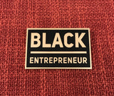 Black Entrepreneur Lapel Pin