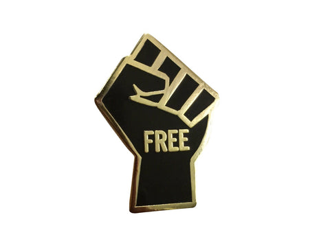 FREEdom Fist Lapel Pin