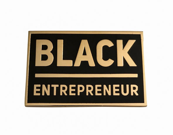 Black Entrepreneur Lapel Pin - Radical Dreams Pins