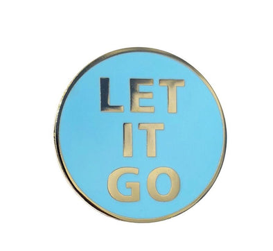 Let It Go Lapel Pin