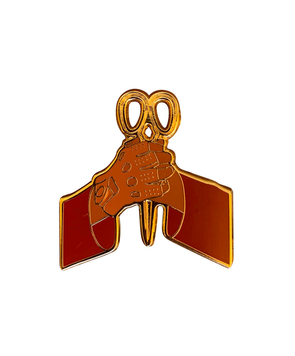 Scissors Lapel Pin