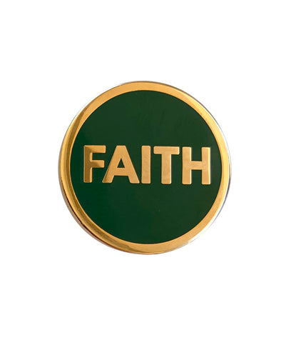 Faith Lapel Pin - GREEN