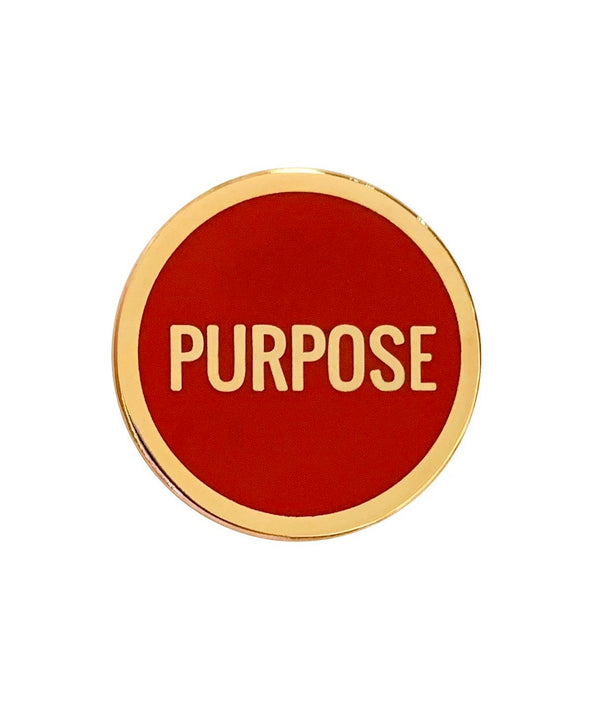 Purpose Lapel Pin - RED