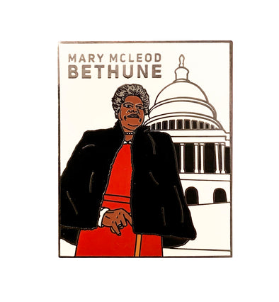 Mary Mcleod Bethune Lapel Pin