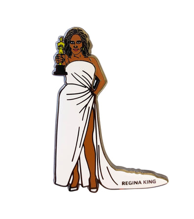Regina BEEN King Lapel Pin