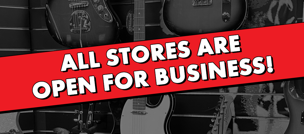 NEWS: All Living Music Stores Are Open For Business!