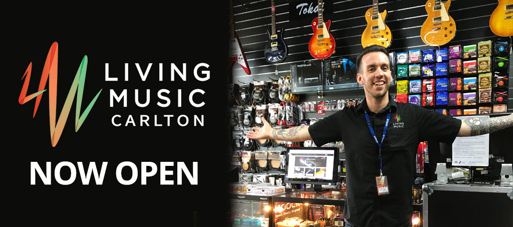 NEWS: Living Music Carlton is Now Open!