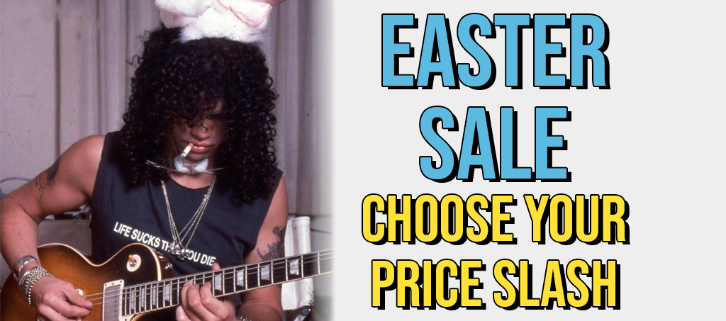 EASTER SALE: Choose Your PRICE SLASH Online This Weekend!