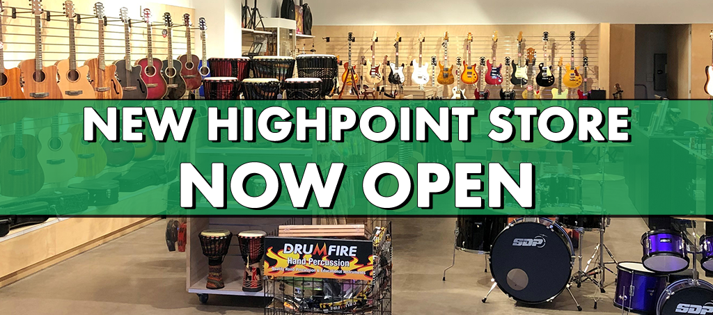 NEWS: Living Music Highpoint NOW OPEN