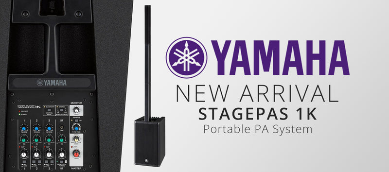 NEW ARRIVALS: Yamaha STAGEPAS 1K Portable PA System