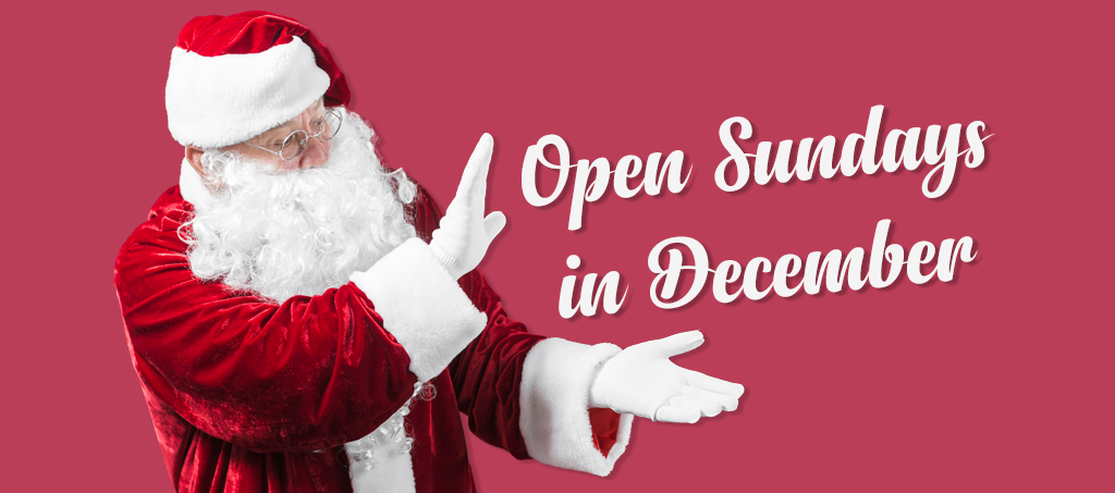 NEWS: Open 7 Days Until Christmas