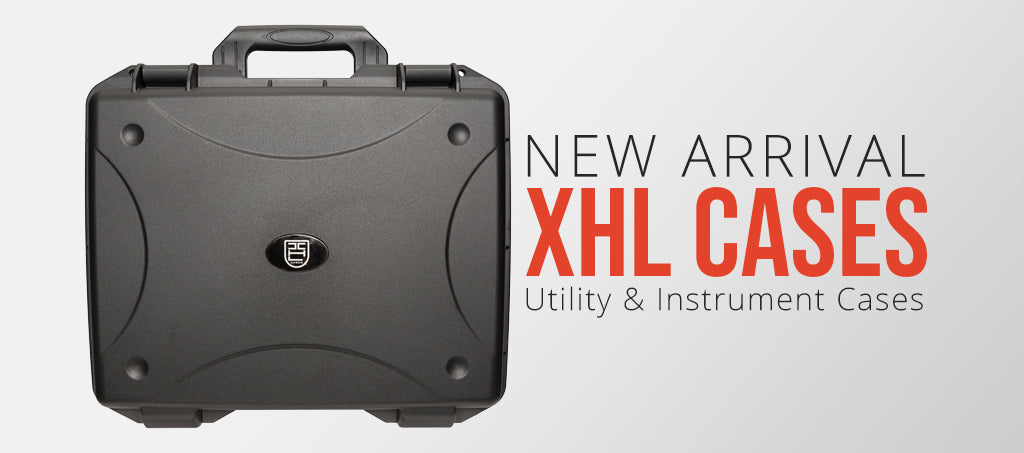 NEW ARRIVALS: XHL Utility & Instrument Hard Cases