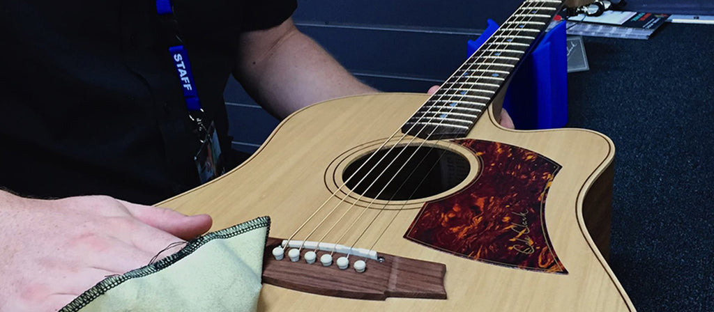 Guitar repair at Living Music Greensborough