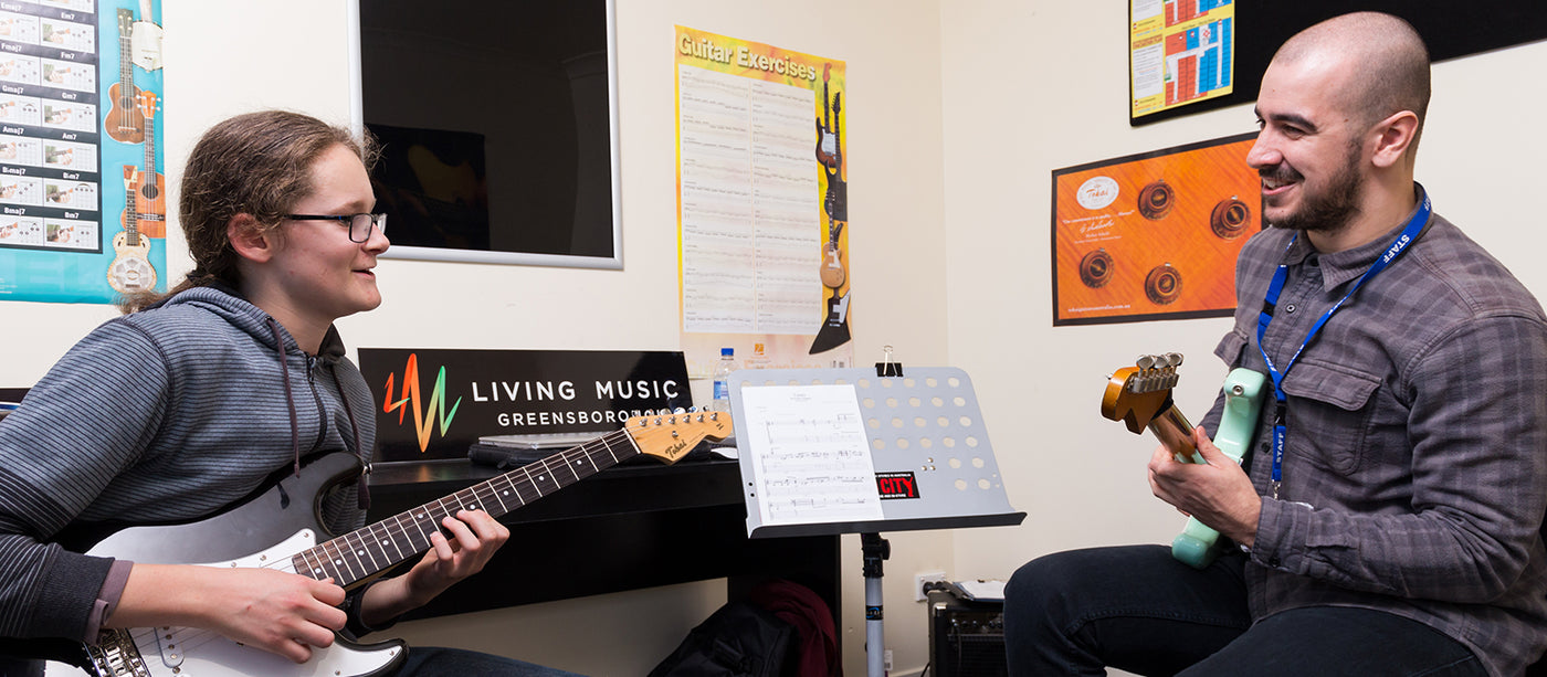 TUITION AT LIVING MUSIC GREENSBOROUGH