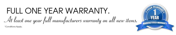 Full One Year Warranty