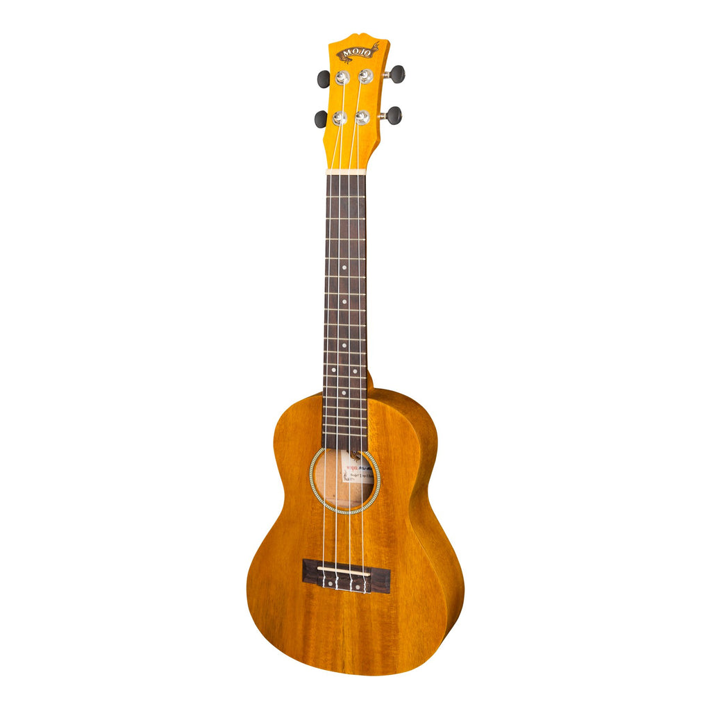 MCU-A30P-NST-Mojo 'A30 Series' Acacia Top Electric Concert Ukulele (Natural Satin)-Living Music