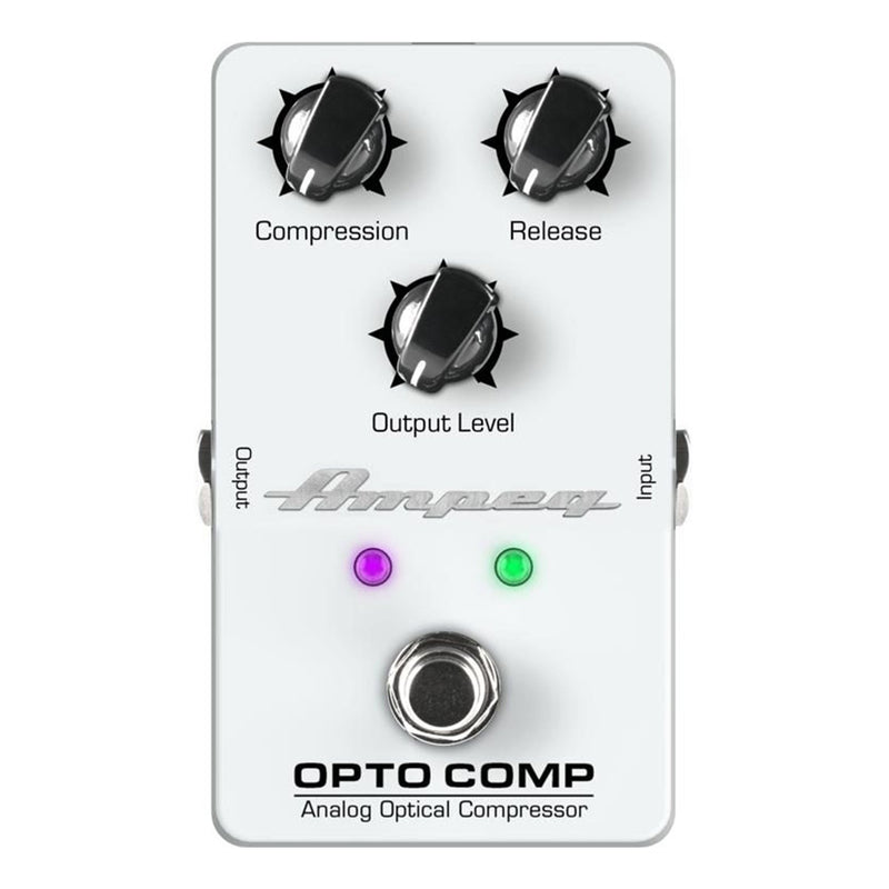 OPTO-COMP-Ampeg 'Opto Comp' Analogue Optical Compressor Bass Guitar Effects Pedal-Living Music