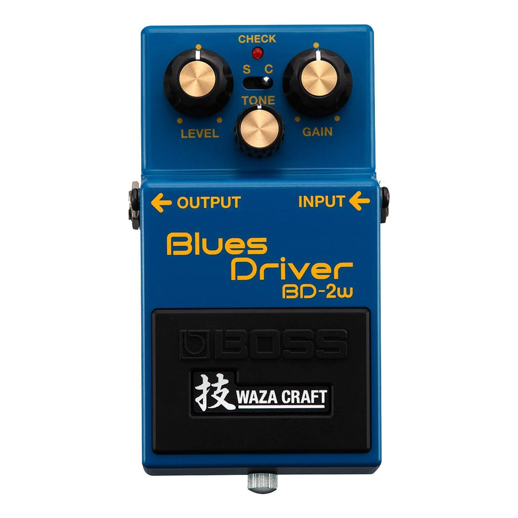 BD2W-Boss BD-2W Waza Craft Blues Driver Guitar Effects Pedal-Living Music