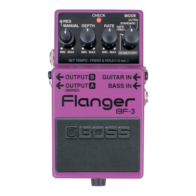 BF3-Boss BF-3 Flanger Guitar Effects Pedal-Living Music